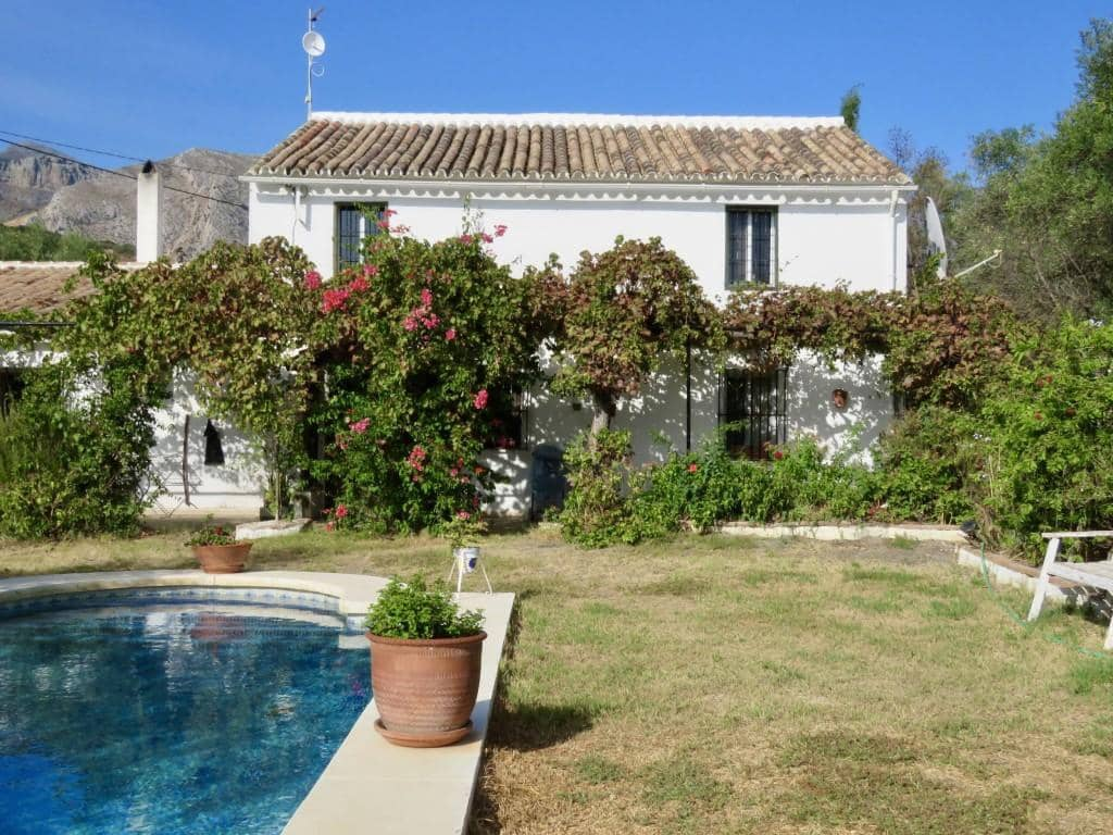 4 bedroom Finca/Country House for sale in El Chorro - € 295,000 (Ref: 5617477)