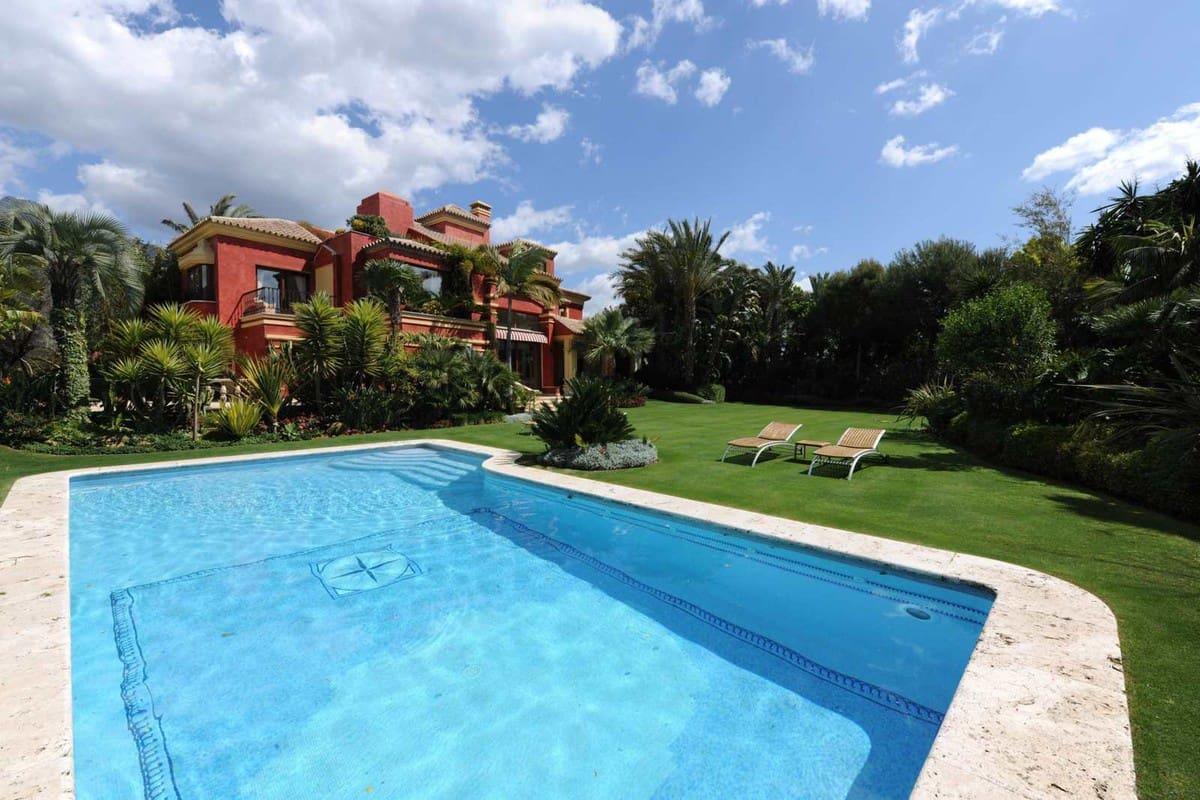 5 bedroom Villa for sale in Marbella with garage - € 4,200,000 (Ref: 5168035)