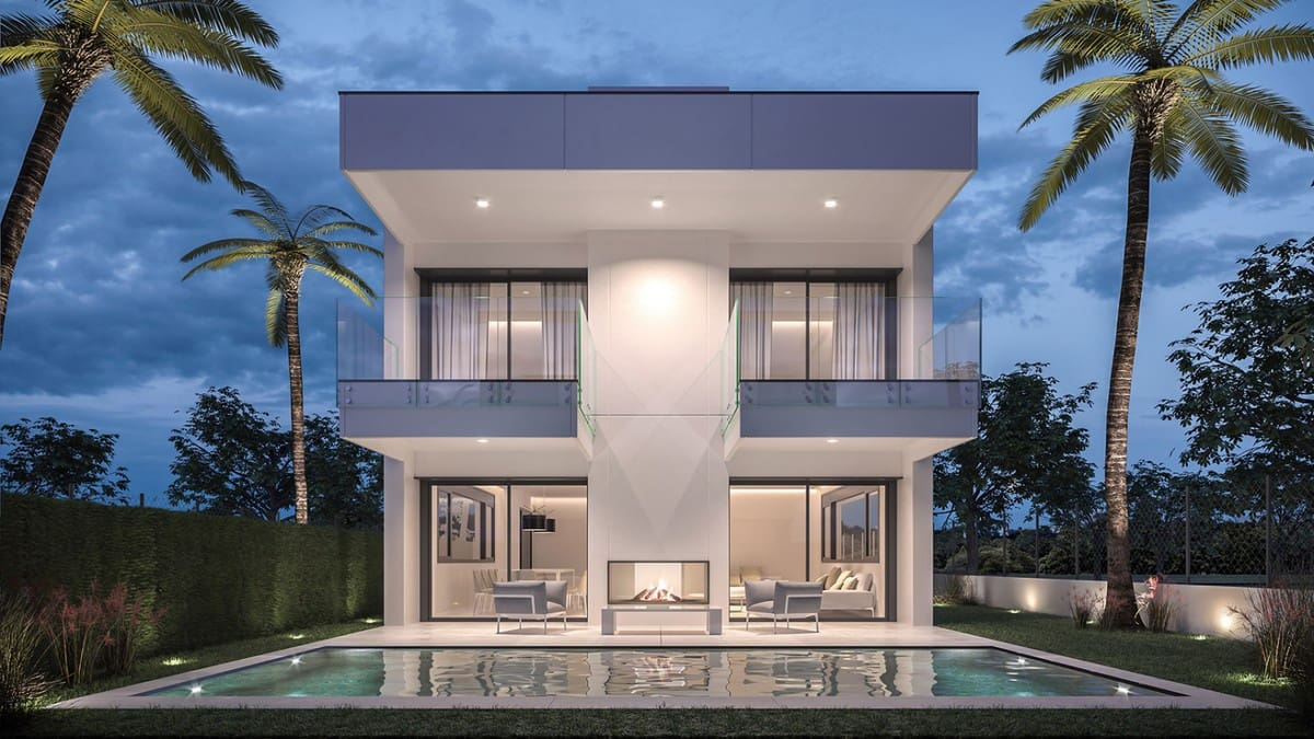 4 bedroom Villa for sale in Marbella with pool garage - € 1,395,000 (Ref: 5168274)