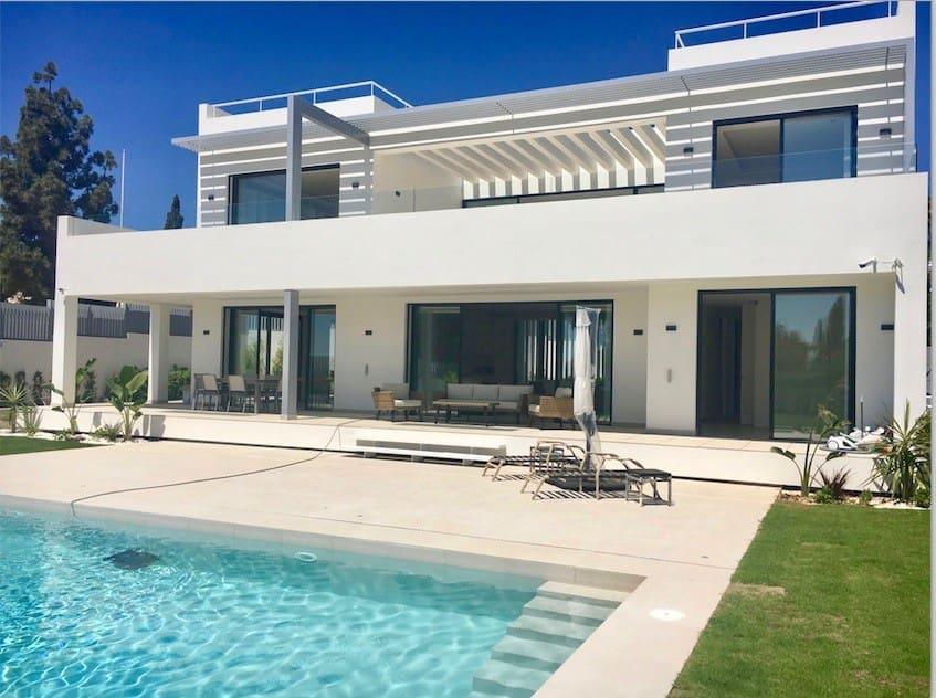 6 bedroom Villa for sale in Marbella with pool garage - € 2,950,000 (Ref: 5168349)