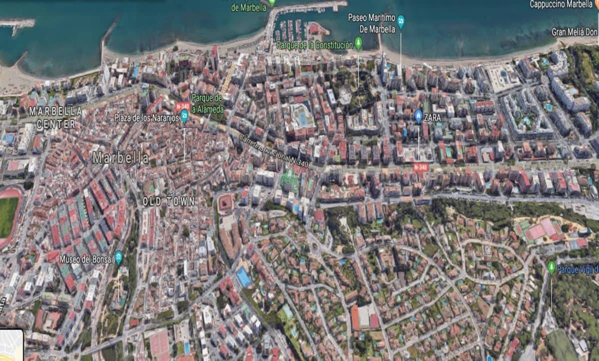Undeveloped Land for sale in Marbella - € 6,500,000 (Ref: 5168569)