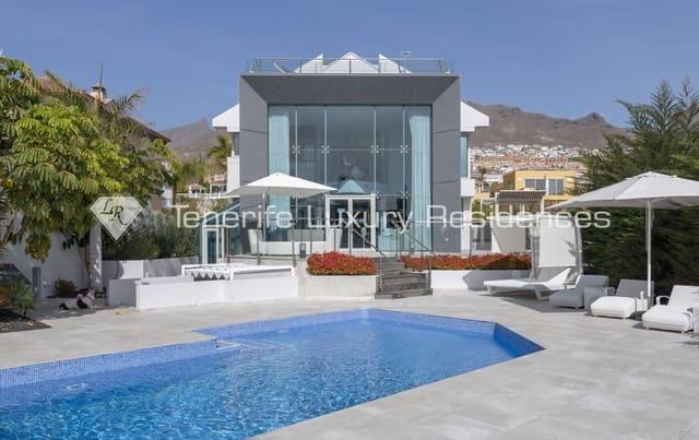 5 sypialnia Willa na sprzedaż w Costa Adeje z basenem garażem - 1 700 000 € (Ref: 5302565)