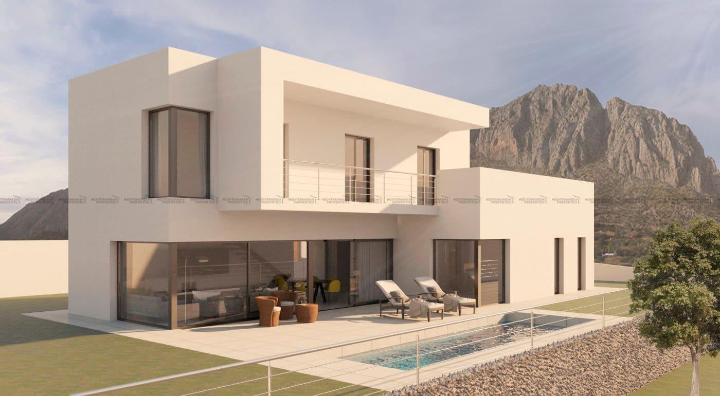 Chalet de 4 habitaciones en Beniarbeig en venta con piscina - 490.000 € (Ref: 4893233)