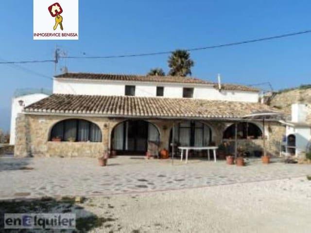 12 sovrum Semi-fristående Villa till salu i Benissa med pool - 424 000 € (Ref: 3260404)