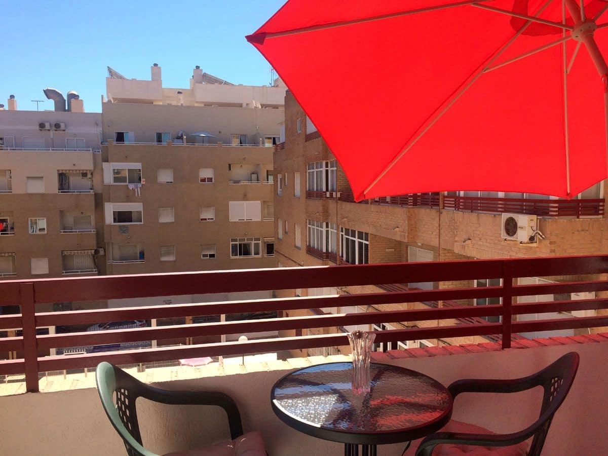 1 soverom Leilighet til leie i Torrevieja med svømmebasseng - € 395 (Ref: 5391356)