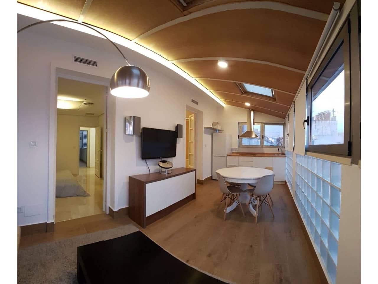 2 sovrum Takvåning att hyra i Alicante stad - 750 € (Ref: 4307074)