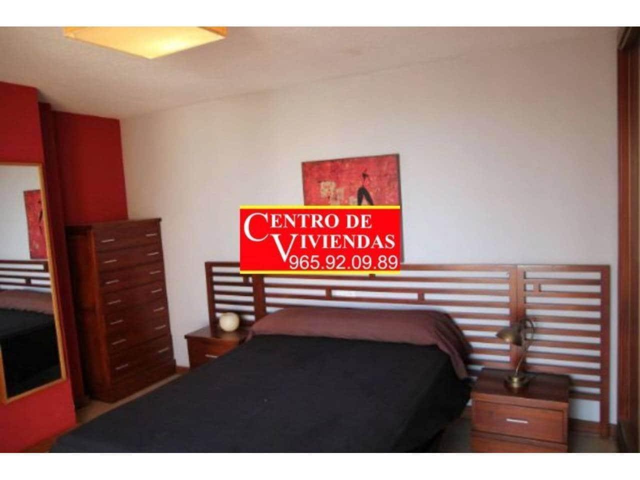 2 sovrum Takvåning att hyra i Playa de San Juan med pool garage - 1 200 € (Ref: 4307137)