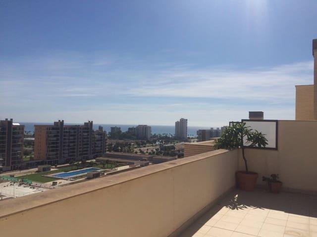 2 sypialnia Penthouse na sprzedaż w Cabo de las Huertas - 330 000 € (Ref: 4476001)