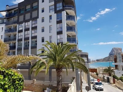 2 Bedroom Apartment For In Calpe Calp Alicante With Garage 1 200