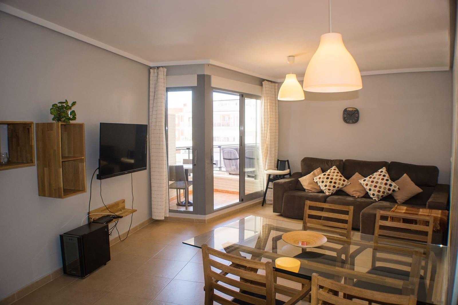 2 soveværelse Lejlighed til leje i Calpe / Calp - € 850 (Ref: 5876565)