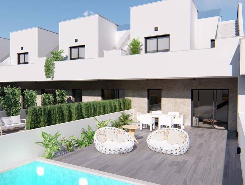 Chalet de 3 habitaciones en Pilar de la Horadada en venta con piscina - 205.900 € (Ref: 5043940)