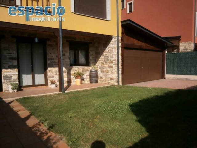 Adosado de 3 habitaciones en Arganza en venta con garaje - 150.000 € (Ref: 3604490)