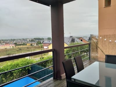Pareado de 5 habitaciones en Camponaraya en venta con piscina garaje - 190.000 € (Ref: 4410631)