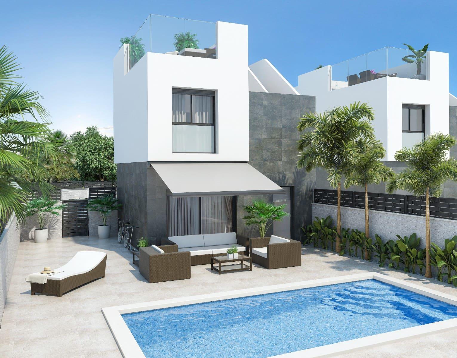 Chalet de 3 habitaciones en Benijófar en venta - 231.500 € (Ref: 3609144)