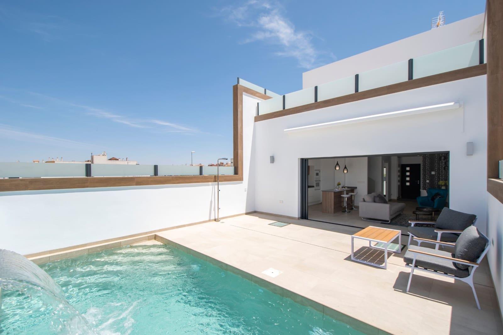 Chalet de 3 habitaciones en Benijófar en venta con piscina - 235.000 € (Ref: 4824666)