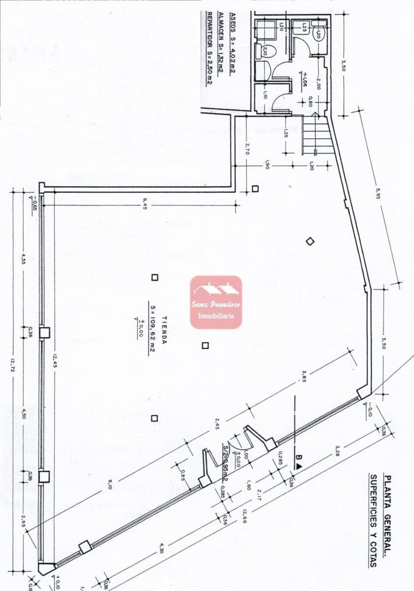 Local Comercial en Segovia ciudad en venta - 175.000 € (Ref: 4636454)