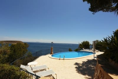 2 sovrum Takvåning att hyra i Cala Vinyes / Cala Vinyas / Cala Vinas med pool - 2 950 € (Ref: 5378215)
