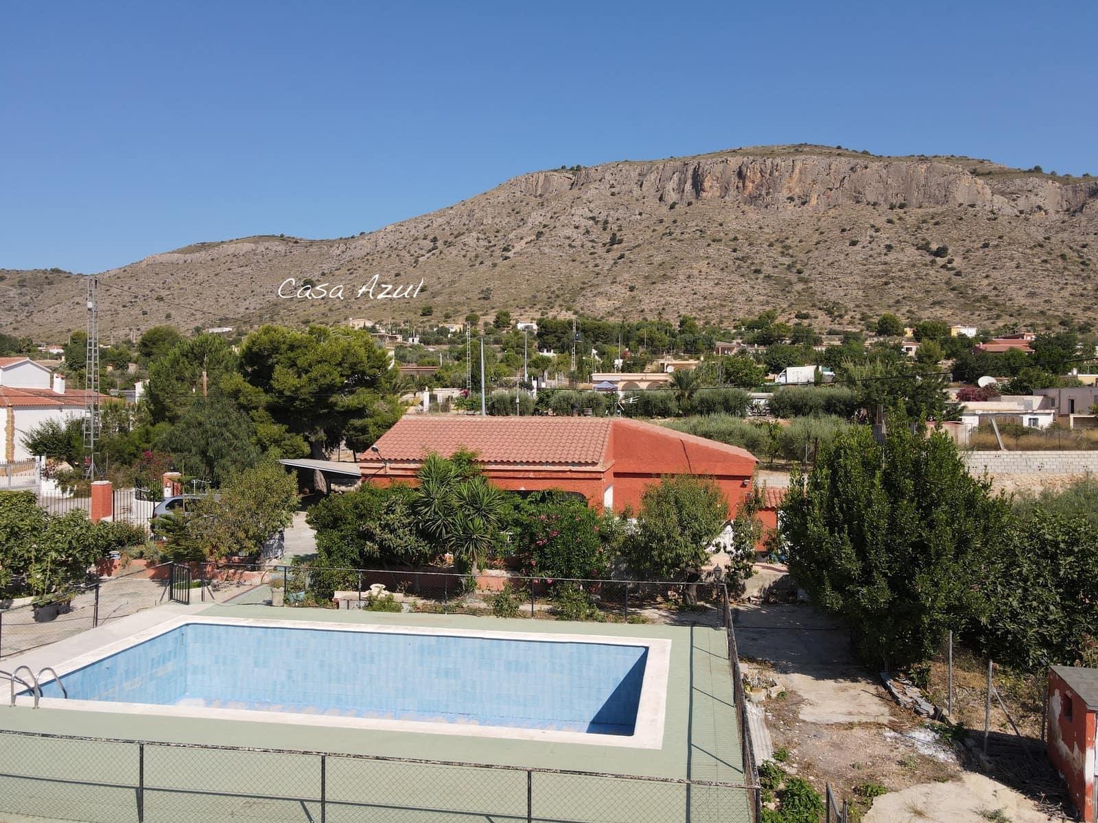 4 bedroom Finca/Country House for sale in Hondon de las Nieves - € 120,000 (Ref: 6239123)