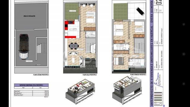 Apartamento de 3 habitaciones en Huércal-Overa en venta - 156.000 € (Ref: 5349630)
