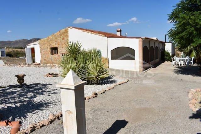 5 soveværelse Finca/Landehus til leje i Almendricos med swimmingpool - € 650 (Ref: 6041038)