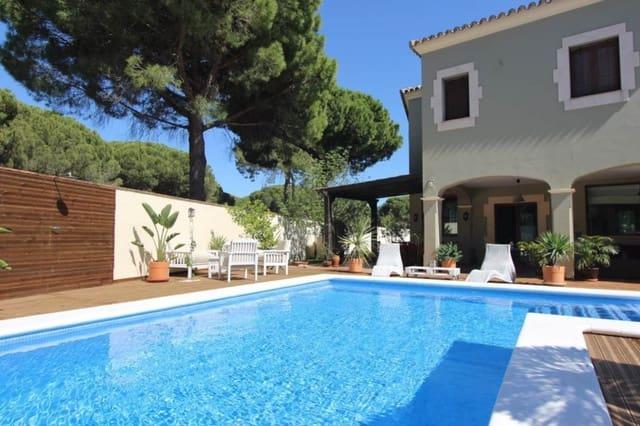 5 soveværelse Villa til leje i Conil de la Frontera med swimmingpool - € 3.250 (Ref: 5827158)