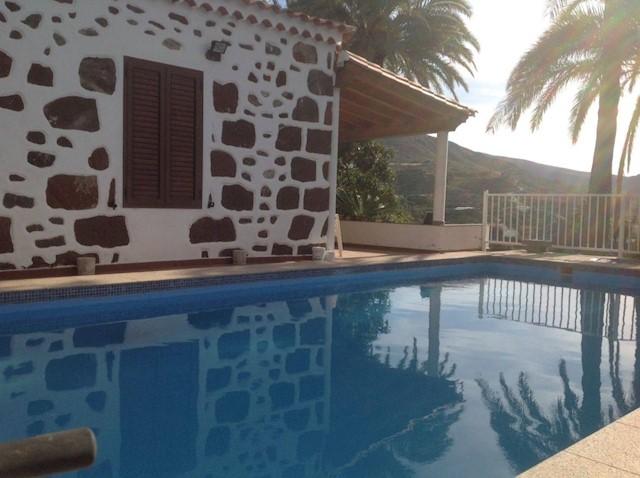 Finca Casa Rural De 3 Habitaciones En San Bartolome De Tirajana En