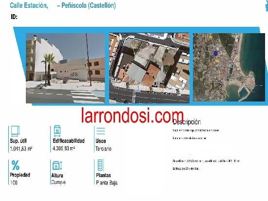1 soveværelse Erhverv til salg i Peniscola - € 764.000 (Ref: 5749232)