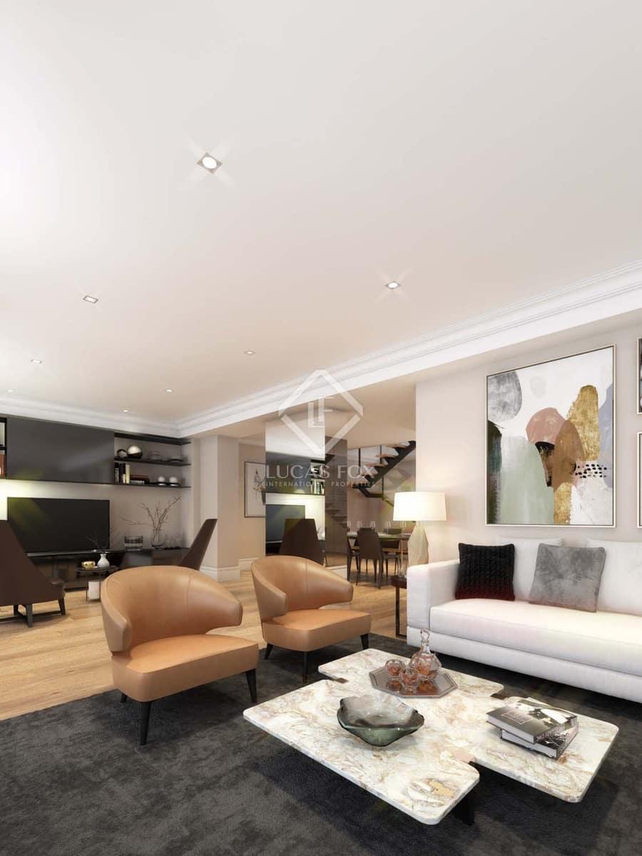 4 Zimmer Penthouse zu verkaufen in Madrid Stadt mit Garage - 2.405.000 € (Ref: 3262709)