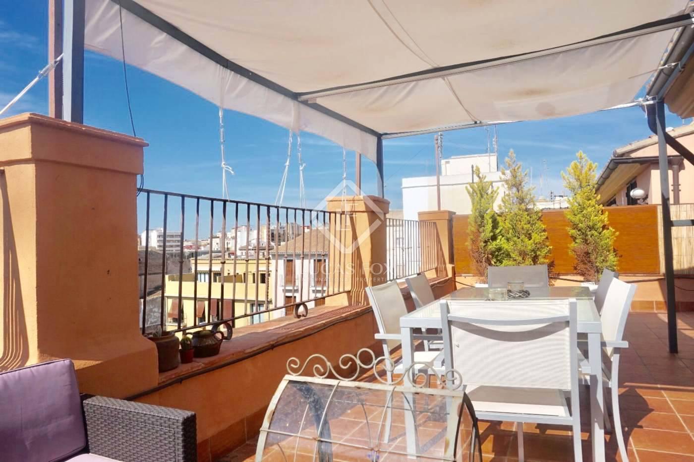 2 slaapkamer Penthouse te huur in Valencia stad met garage - € 2.000 (Ref: 4015198)