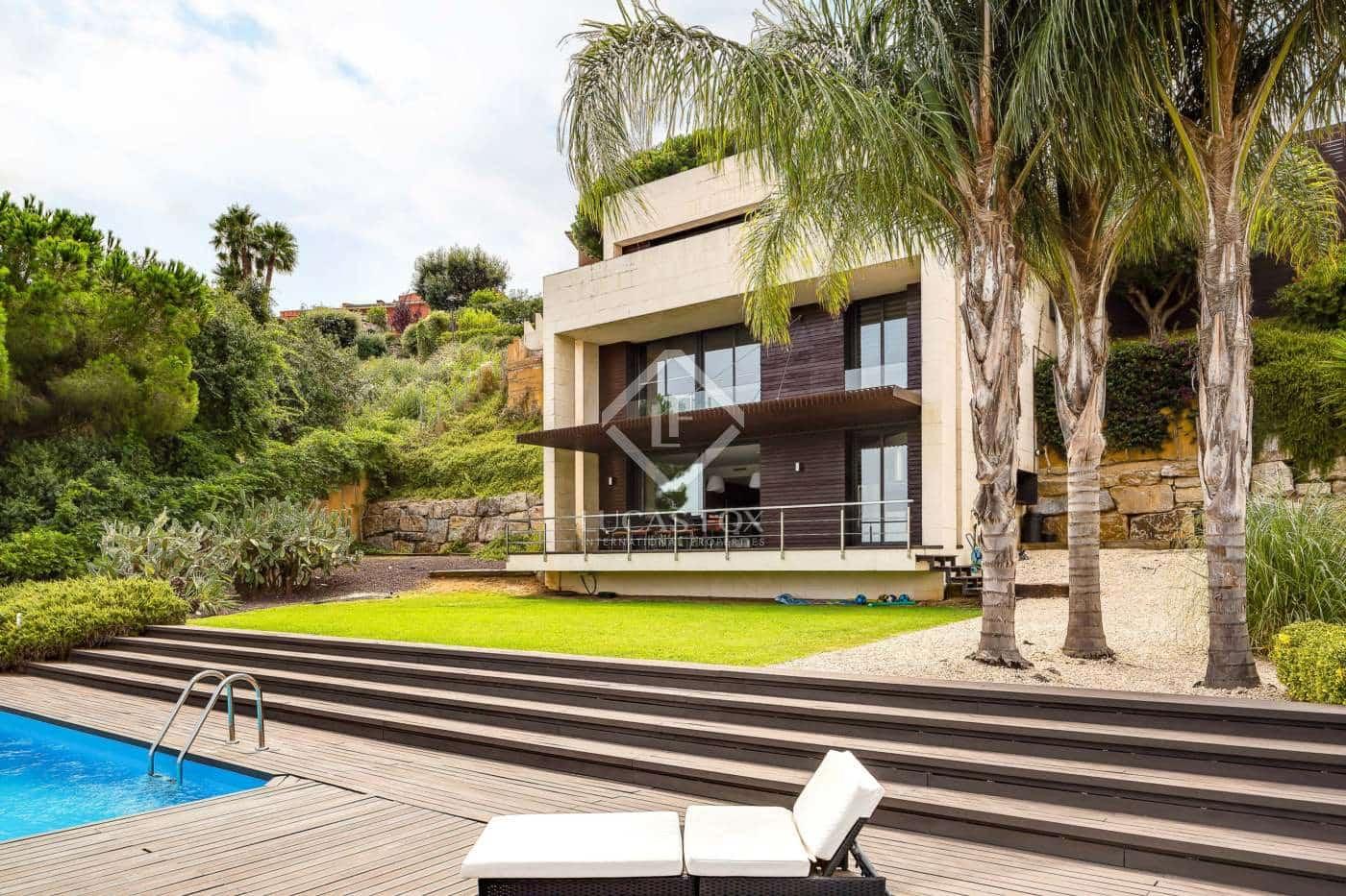 4 bedroom Villa for sale in Sant Andreu de Llavaneres with pool garage - € 895,000 (Ref: 4151123)