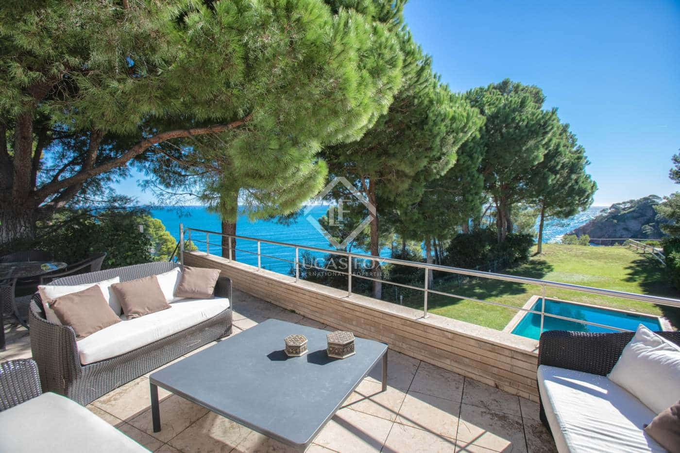 6 sovrum Villa till salu i Calella de Palafrugell med pool garage - 2 300 000 € (Ref: 4330800)