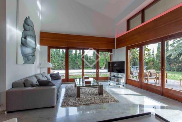 5 soverom Villa til leie i Rocafort med svømmebasseng garasje - € 3 500 (Ref: 4369823)