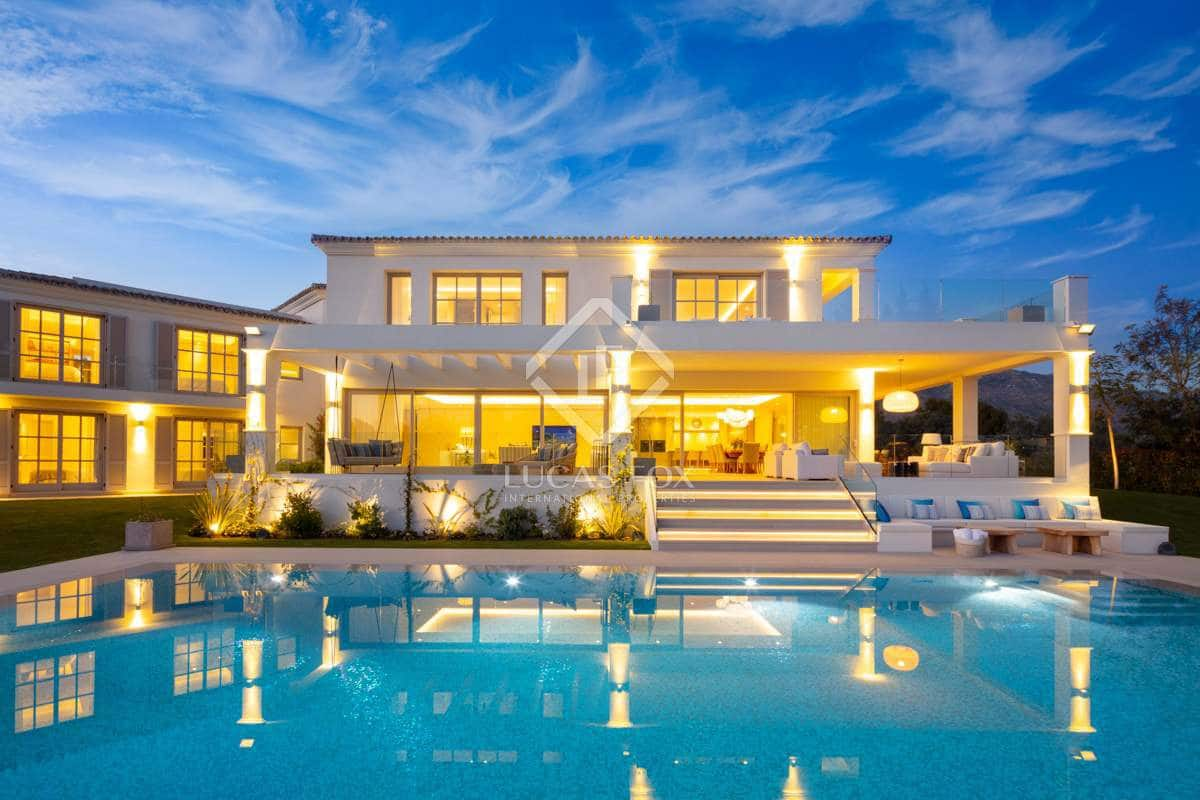 6 bedroom Villa for sale in Marbella with pool garage - € 6,295,000 (Ref: 4578951)