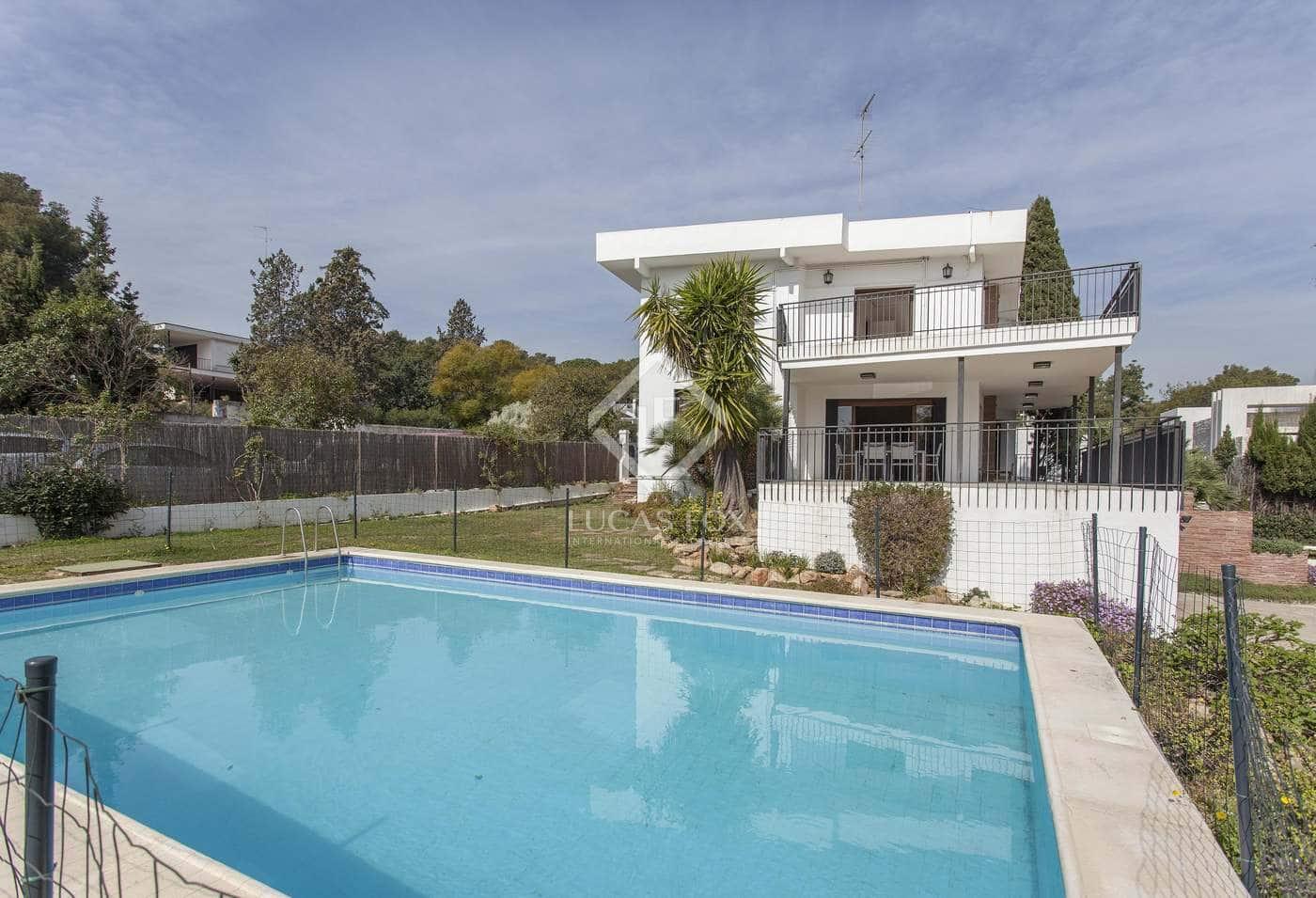 5 slaapkamer Villa te huur in Godella met garage - € 3.000 (Ref: 4604462)