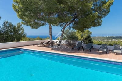 5 Zimmer Villa zu verkaufen in Cala Tarida mit Pool Garage - 2.100.000 € (Ref: 4806718)