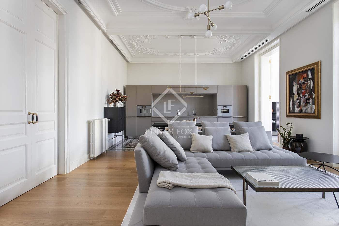 2 slaapkamer Appartement te huur in Barcelona stad met zwembad - € 6.000 (Ref: 5053416)