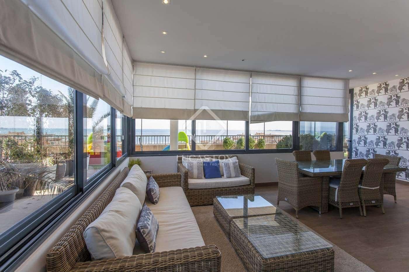 4 slaapkamer Penthouse te huur in Alboraya / Alboraia met zwembad garage - € 3.000 (Ref: 5125913)