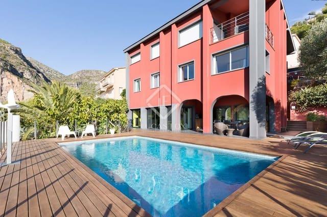 6 slaapkamer Villa te huur in Sitges met zwembad garage - € 6.000 (Ref: 5276680)