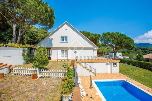 4 Zimmer Villa zu verkaufen in Vallromanes mit Pool Garage - 570.000 € (Ref: 5551967)