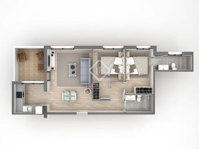 Ático de 2 habitaciones en Gavà en venta con garaje - 499.000 € (Ref: 5599672)