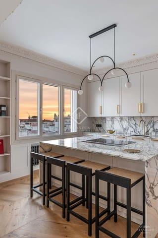 4 chambre Penthouse à vendre à Madrid ville avec garage - 1 795 000 € (Ref: 5881693)