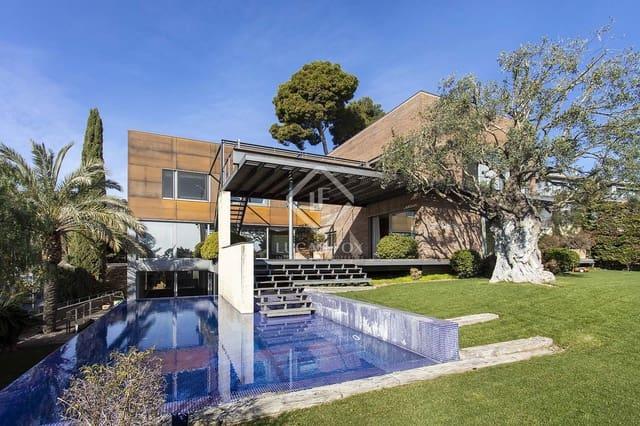 6 sypialnia Willa do wynajęcia w Miasto Barcelona z basenem garażem - 20 000 € (Ref: 5937029)
