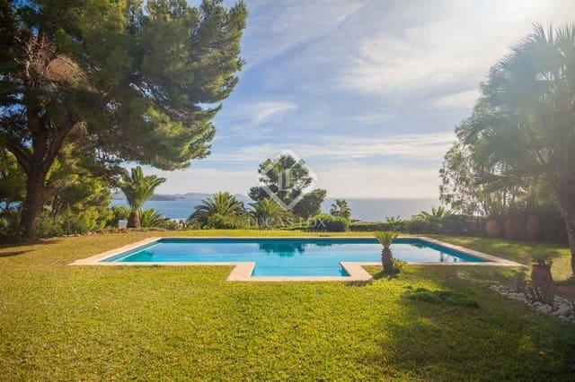 3 chambre Villa/Maison à vendre à Es Cubells avec piscine garage - 3 200 000 € (Ref: 5940990)