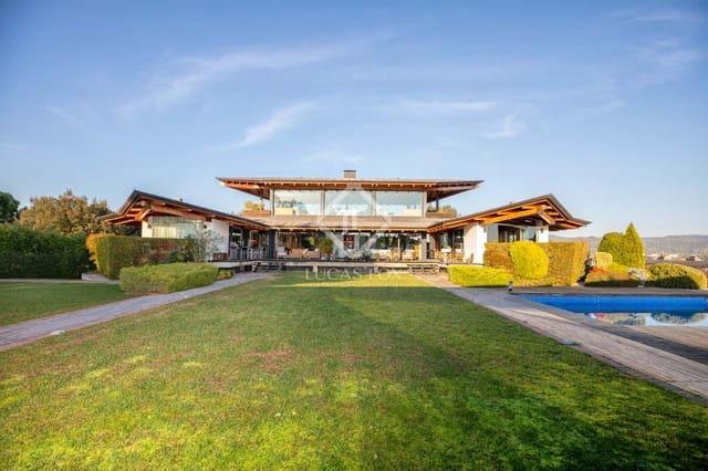 8 chambre Villa/Maison à vendre à Gerone ville avec piscine garage - 2 550 000 € (Ref: 5969251)