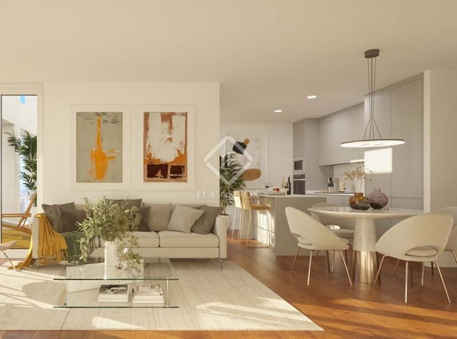 3 sypialnia Penthouse na sprzedaż w Miasto Walencja z basenem garażem - 1 660 000 € (Ref: 5995188)