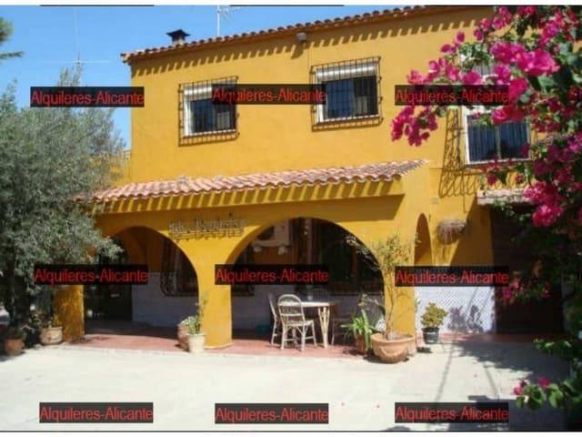 6 slaapkamer Villa te huur in Villafranqueza met garage - € 1.500 (Ref: 5878068)