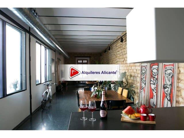 1 sovrum Vind att hyra i Alicante stad - 1 100 € (Ref: 6066854)