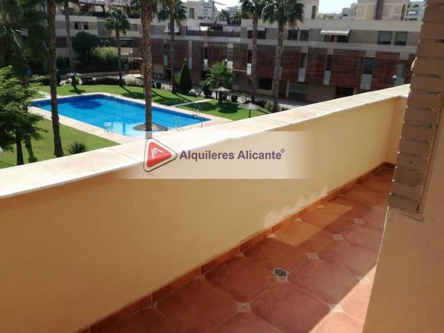 3 sovrum Lägenhet att hyra i Playa de San Juan med pool garage - 980 € (Ref: 6363209)