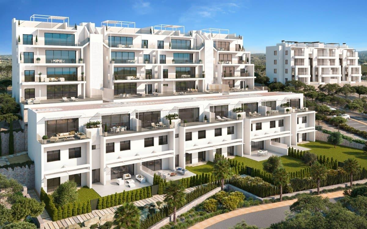 Apartamento de 3 habitaciones en Las Colinas Golf en venta con piscina - 356.000 € (Ref: 3957416)