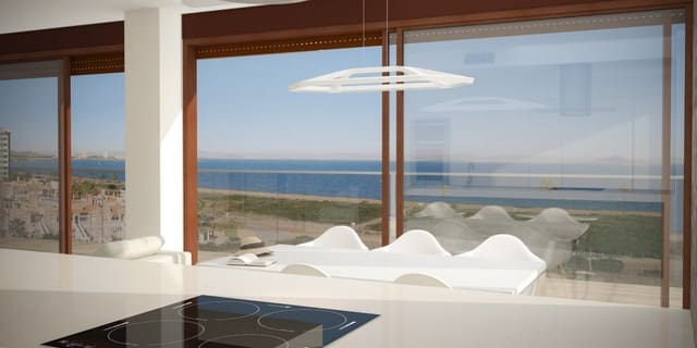 2 sypialnia Apartament na sprzedaż w La Manga del Mar Menor z basenem garażem - 170 000 € (Ref: 4473628)